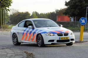 BMW M3 Olanda Police Car