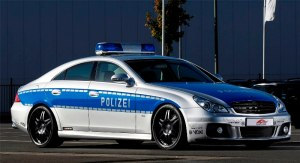 Brabus CLS Rocket Police Car