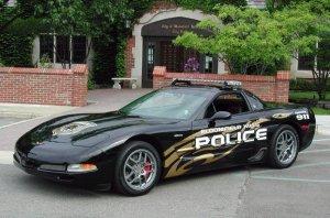 Chevrolet Corvette ZO6 Police Car