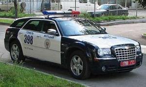 Chrlyser 300C SRT8 Police Car
