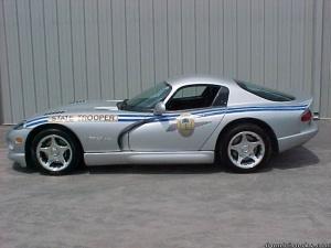 Dodge Viper Police Car S.U.A.