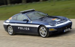 Ferrari Scaglietti 612 Police  Car UK