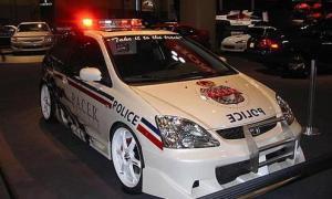 Honda Civic Police Car