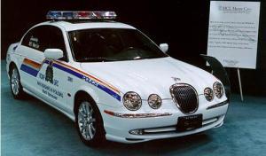 Jaguar S Type Police Car