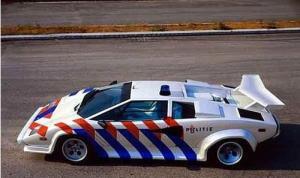 Lamborghini Diablo Police Car