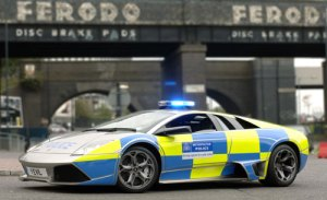 Lamborghini Murcielago London Police Car