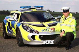 Lotus Exige Police Car