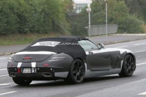 Mercedes SLS AMG Cabrio Spion 2