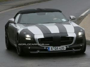 Mercedes SLS AMG Cabrio Spion