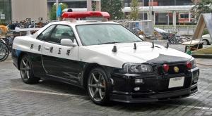 Nissan Sky Line GTR Police Car  Japan