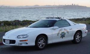 Pontiac 2 Police Car
