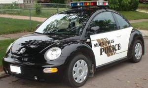 VW Beetle Police Car