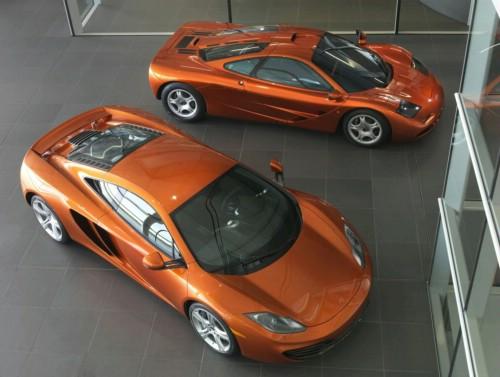 De la nou la vechi-McLaren