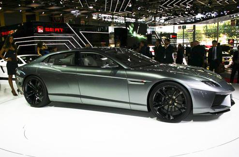 Lamborghini Estoque 2008 Paris