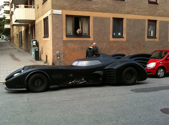 Batmobile. O replica excelenta