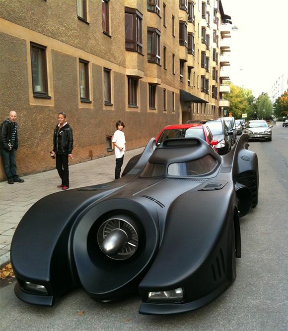 Lincoln Continental Batmobile Replica