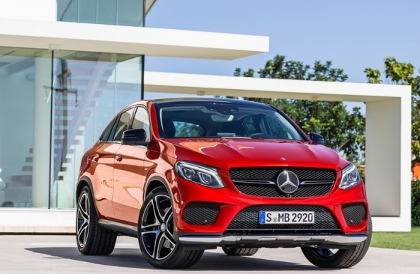 10 Mercedes Benz GLE450 AMG Coupe