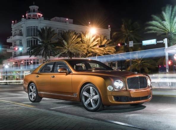 4 Bentley Mulsanne