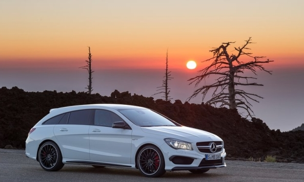 9 Mercedes Benz CLA Shooting Brake