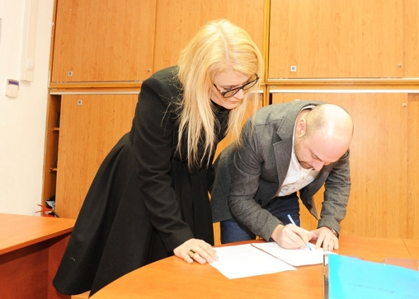 Mihai Georgescu si Liana Stanciu