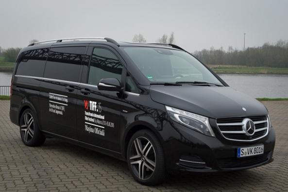 Mercedes-Benz Clasa V de 10 ani la TIFF