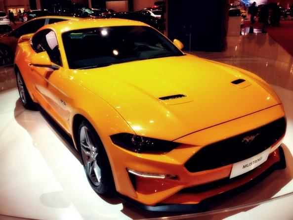 Noul Ford Mustang. Armăsarul mai Galben ca trandafirul din film.